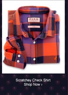 Scratchey Check Shirt