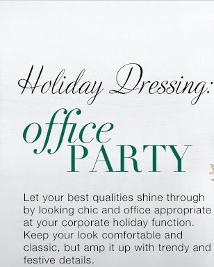Shop Looks For Your Holiday Office Party