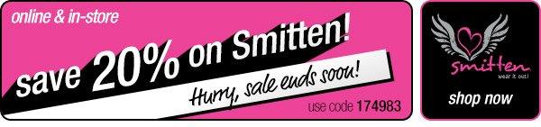 Save 20% on Smitten