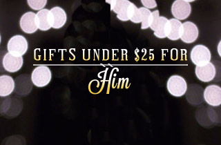 Gifts for Him: Under $25