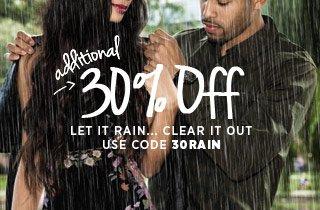 Let It Rain...Clear It Out
