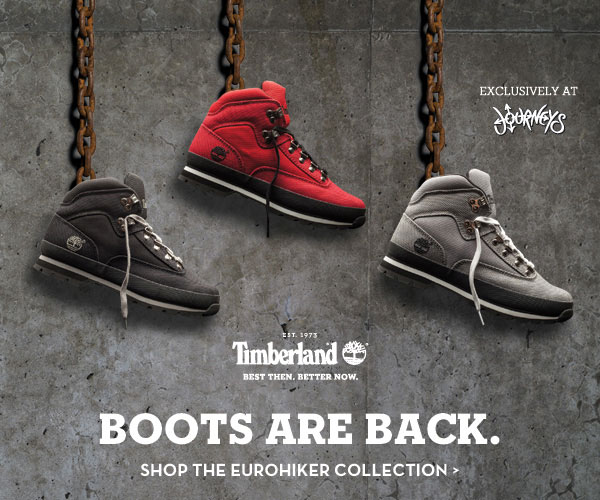 Boots are Back. Shop the Eurohiker from Timberland.