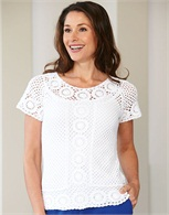 Cotton Crochet Top