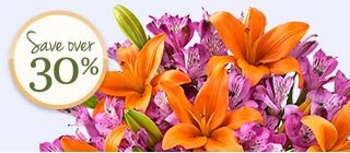 Deal of the Week Fall Lily & Peruvian Lily Bouquet, just $29.99 Save Over 30%! Shop Now