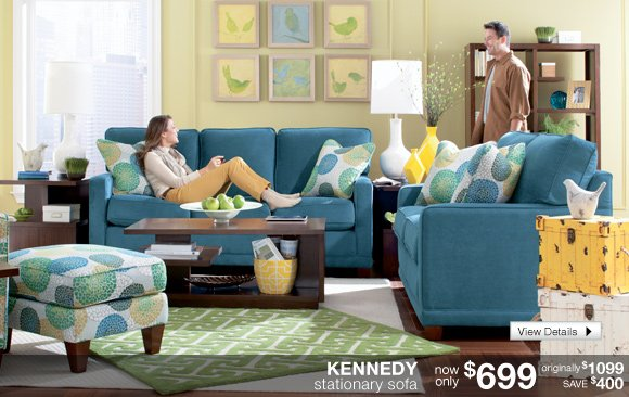 KENNEDY stationary sofa now only $699