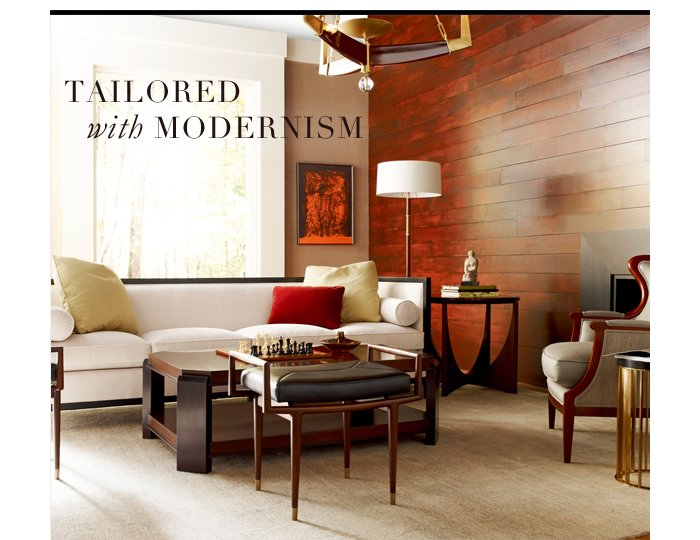 Tailored with Modernism
