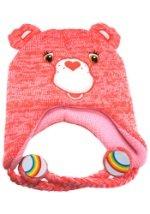 Pink Carebears Laplander Hat