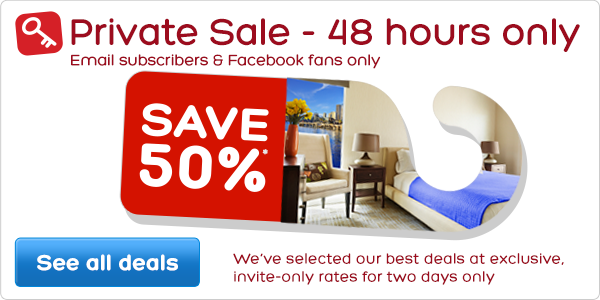 Private email subscriber sale – save 50%*