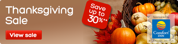 Thanksgiving Sale - save up to 30%**