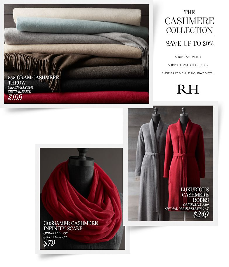 The Cashmere Collection - Save up to 20%