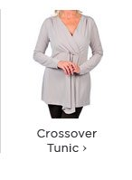 Long Sleeve Crossover Tunic