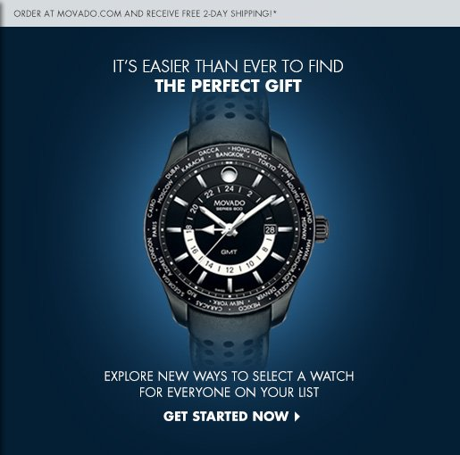 IT'S EASIER THAN EVER TO FIND THE PERFECT GIFT