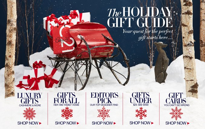 Save Up To 65% On Holiday Shopping With Shop Century 21's Holiday Gift Guide