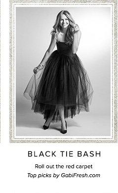 BLACK TIE BASH