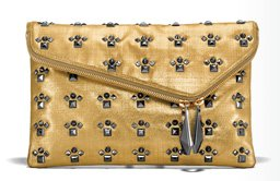 Suped Up Debutante Asymmetric Clutch