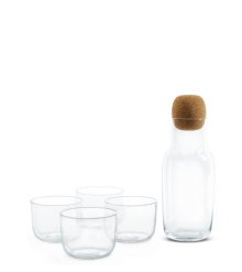 CORKY GLASSWARE (2011) Designed by Andreas Engesvik for Muuto