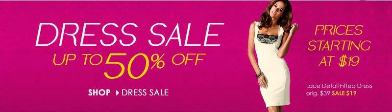 DRESS SALE! Get up to 50% OFF! Shop Dress Sale