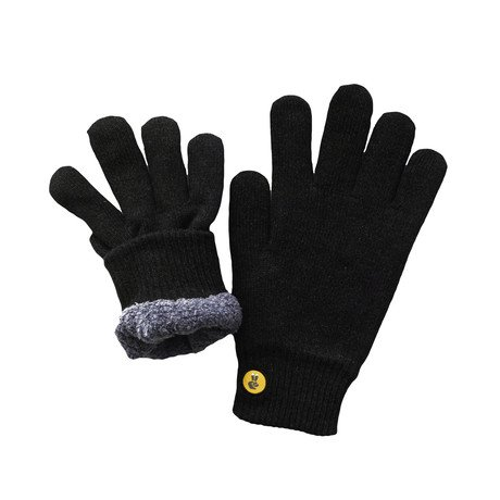 COZY Lined Touch Screen Glove // Black