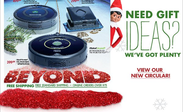 NEED GIFT IDEAS? WE'VE GOT PLENTY VIEW OUR NEW CIRCULAR!