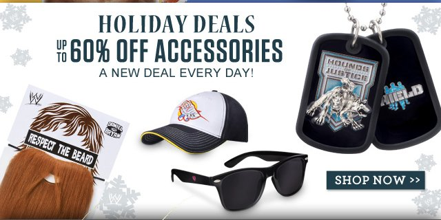Featured Categories: WWE Superstar Accessories up to 60% off