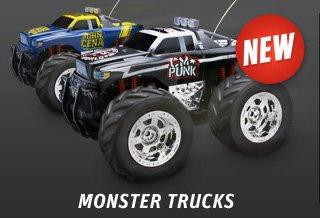 WWE Superstar Monster Trucks