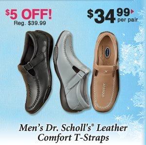 Ladies' Dr. Scholl's Comfort T-Straps $34.99 per pair