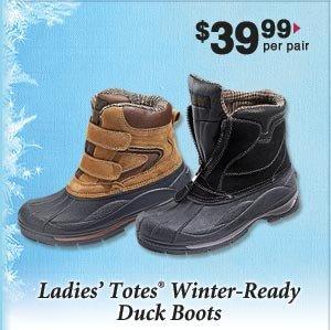 Men's Totes Duke Boots $39.99 per pair