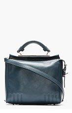 3.1 PHILLIP LIM Slate blue leather Small Ryder Satchel for women