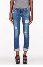 FRAME DENIM Blue Jay Way Le Garcon Wash Jeans for women