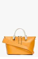 CHLOE Tan leather Baylee Small Tote for women