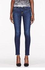 FRAME DENIM Blue Columbia Road Wash Le Skinny De Jeanne Jeans for women