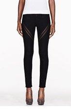 RAG & BONE Black Ribbon Jeans for women