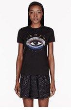 KENZO Black Eye print T-shirt for women