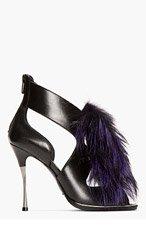 NICHOLAS KIRKWOOD Black And Purple Heel- 105mm for women