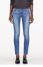 FRAME DENIM Blue Abbot Kinney Wash Le Skinny De Jeanne Jeans for women