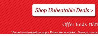 Shop all Unbeatable Deals