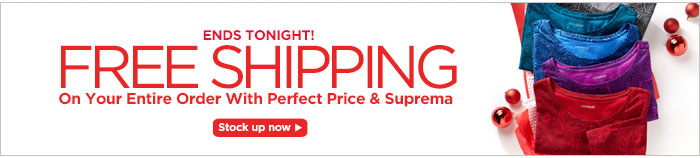 Get Free Shipping on Your Entire Order!