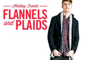Shop Holiday Trend: Flannels & Plaids
