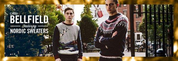 Shop New BellField ft. Nordic Sweaters