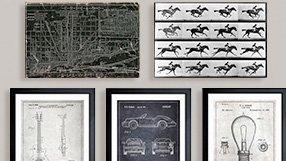 Vintage Maps, Blueprints & more