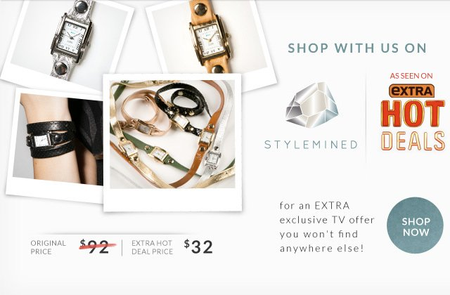 Shop with us on Stylemined. As seen on Extra Hot Deals