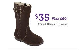 $35 Was $69 Flex Blaze Brown