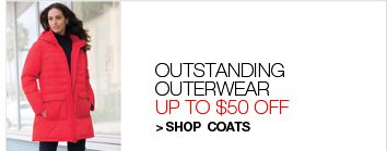 Shop Coats, Up to $50 Off