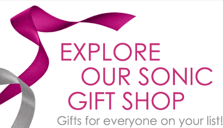 Sonic Gift Shop is Now Open - Give the Gift of Beautiful Skin