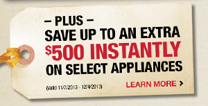 Plus Save up to an extra $500