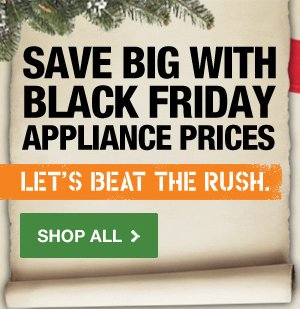 Save Big With Black Friday Appliance Prices