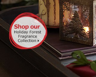 Shop our Holiday Forest Fragrance Collection