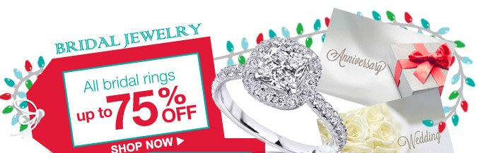 BRIDAL JEWELRY | All bridal rings up to 75% OFF | SHOP NOW