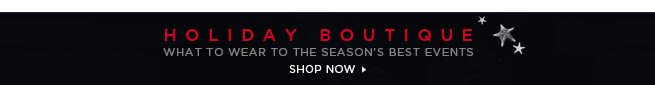Shop the Holiday Boutique