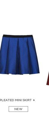 Simona Pleated Mini Skirt